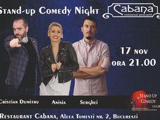 Stand-up comedy night cu Anisia Gafton, Serghei & Cristian Dumitru