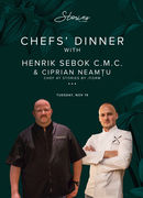 Chefs'  Dinner with Henrik Sebok & Ciprian Neamțu at Stories
