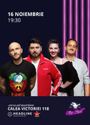 The Fool: Stand-up comedy cu Bordea, Micutzu, Teodora și Mane