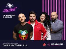 The Fool: Stand-up comedy cu Bordea, Micutzu, Toni și Ioana State