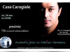 Autentic jazz cu Marius Vernescu
