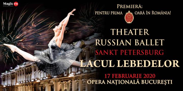 Theatre Russian Ballet - Sankt Petersburg - Lacul Lebedelor