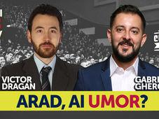 Arad, ai umor? Stand Up Comedy Show cu Gabriel Gherghe si Victor Dragan