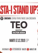 """Constanța: """"Ăsta-i stand up?!"""" Teo – Invitat: Victor Băra"""