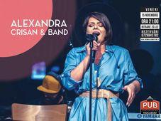 Alexandra Crisan & Band - Live la The PUB