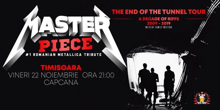 Metallica Tribute cu Masterpiece in Timisoara @ Capcana