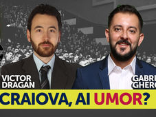Craiova, ai umor? Stand Up Comedy Show cu Gabriel Gherghe si Victor Dragan