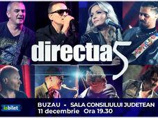 Buzau: Concert Directia 5 - Povestea Noastra