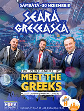 Seară Grecească: Meet the Greeks (Live Band)