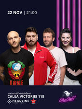 The Fool: Stand-up comedy cu Micutzu, Bordea, Radu Isac și Teodora