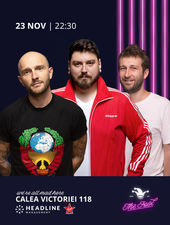 The Fool: Stand-up comedy cu Micutzu, Bordea și Radu Isac