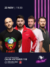 The Fool: Stand-up comedy cu Micutzu, Bordea, Radu Isac și Claudiu Popa