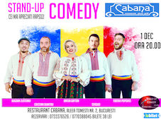 "Stand-up comedy : "" La multi ani Romania !"""