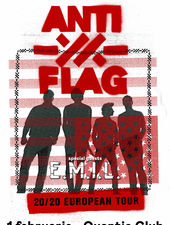 ANTI-FLAG si E.M.I.L. in concert la Quantic