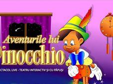 ,,Aventurile lui Pinocchio'' la Clubul Țăranului - La Mama
