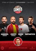 Stand-up cu Gabriel Gherghe, Cristi Popesco, Radu Isac și Natanticu la ComicsClub!