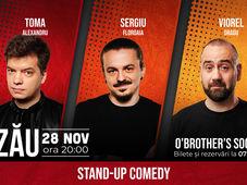 Stand Up Comedy cu Vio, Sergiu & Toma
