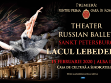 Alba Iulia: Theatre Russian Ballet - Sankt Petersburg - Lacul Lebedelor