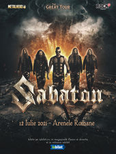 Concert SABATON - The Great Tour