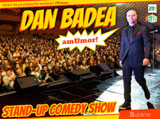 Stand Up Comedy: Dan Badea - amUmor @Brasov Show 3