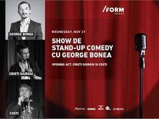 Show de Stand-Up cu George Bonea at /FORM Space