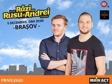 Brașov: Stand Up - Râzi cu Rusu și Andrei