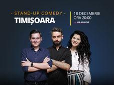 Timișoara: Stand-up comedy cu Bucălae, Tănase, și Ioana State