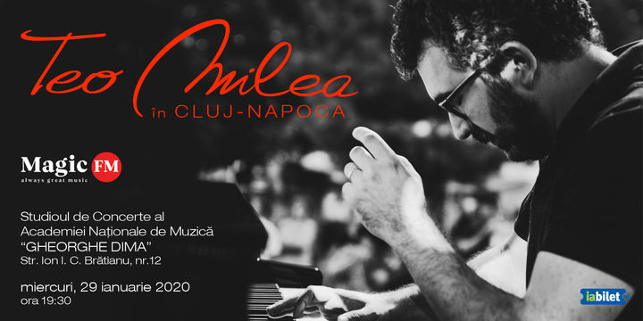 Teo Milea în Cluj-Napoca