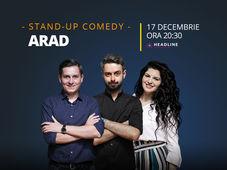 Arad: Stand-up comedy cu Bucălae, Tănase, și Ioana State