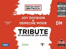Depeche Mode & Joy Division Tribute - British music Night @ The PUB Universitatii