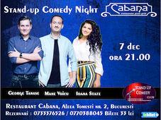 Stand-up comedy night cu George Tanase, Mane Voicu & Ioana State