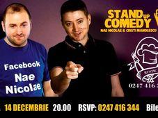 Stand up comedy cu Nae Nicolae și Cristian Manolescu