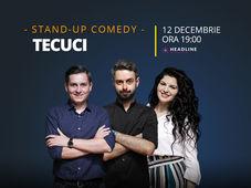 Tecuci: Stand-up comedy cu Bucălae, Tănase și Ioana State