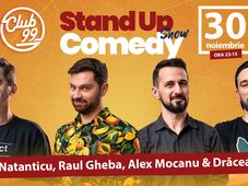 Stand up comedy cu Natanticu, Raul Gheba, Alex Mocanu & Dracea