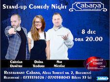 Stand-up comedy night cu Cristian Dumitru, Doina Teodoru & Nae Nicolae
