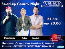 Stand-up comedy night cu Anisia Gafton, Serghei & Doru Ivanov