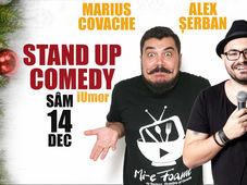 Stand up Comedy iUmor cu Alex Serban si Marius Covache