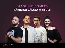 Ramnicu Vâlcea: Stand-up comedy cu Cortea, Mane, Teodora și Florin