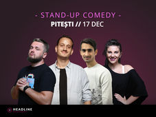 Pitești: Stand-up comedy cu Cortea, Mane, Teodora și Florin