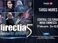 Targu Mures: Concert Directia 5 - Povestea Noastra