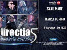 Satu Mare: Concert Directia 5 - Povestea Noastra