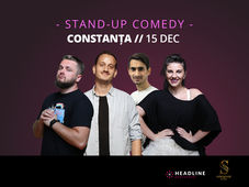 Constanța: Stand-up comedy cu Cortea, Mane, Teodora și Florin