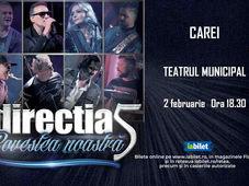 Carei: Concert Directia 5 - Povestea Noastra