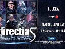 Tulcea: Concert Directia 5 - Povestea Noastra
