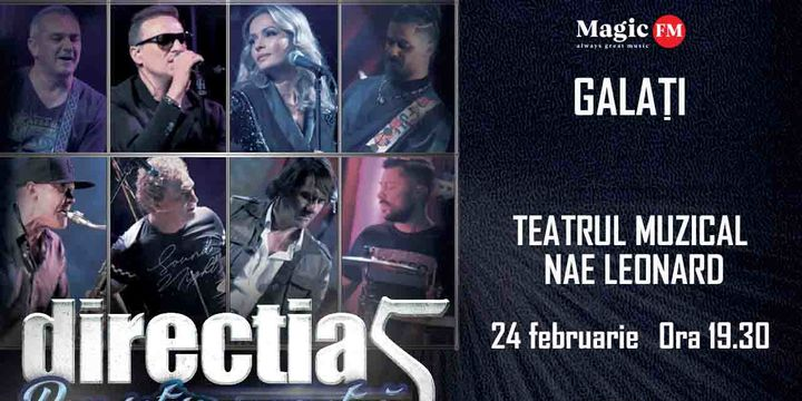 Galati: Concert Directia 5 - Povestea Noastra