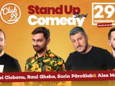 Stand up comedy cu Andrei Ciobanu, Sorin Pârcălab, Raul Gheba si Mocanu
