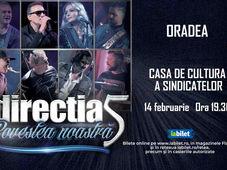 Oradea: Concert Directia 5 - Povestea Noastra