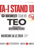 Stand up comedy special: Teo cu invitatii lui ''Ăsta-i stand up?!''