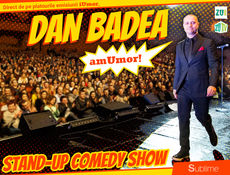 Stand Up Comedy: Dan Badea - amUmor @ Targu Mures Show 2