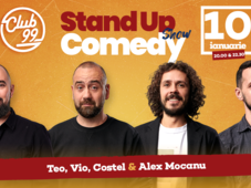 Stand up comedy cu Mocanu, Vio, Costel si invitat